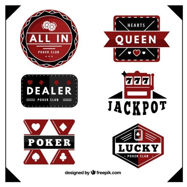 Poker club badges