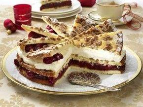 Das Rezept für Spekulatius-Kirsch-Torte und weitere kostenlose Rezepte auf LECKER.de