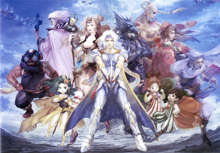 Final Fantasy IV - The Final Fantasy Wiki has more Final Fantasy information than Cid could research