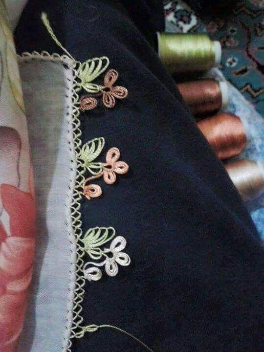 Turkish oya needlework
