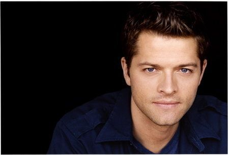 Castiel (Misha Collins) of Supernatural. He's also a cutie, and up there on the fictional bf list. LOL