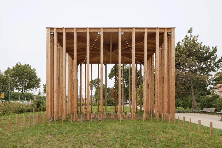 Kuehn Malvezzi . House of One pavilion . Berlin (1)