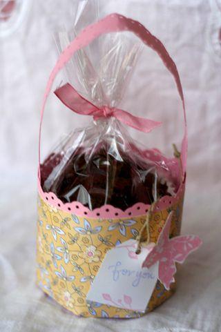 Single cupcake template