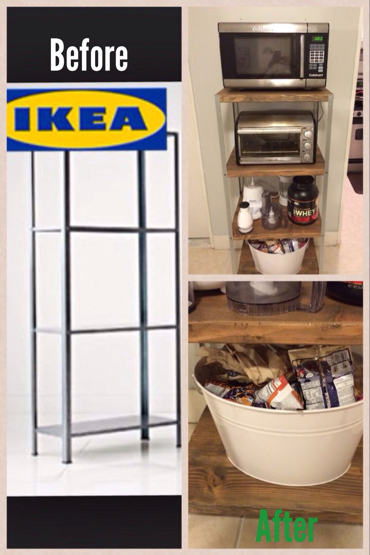 Ikea Hack Kitchen Shelf My Diy Projects Pinterest