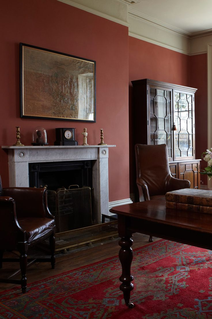 Paint Colours | Book Room Red | Farrow & Ball
