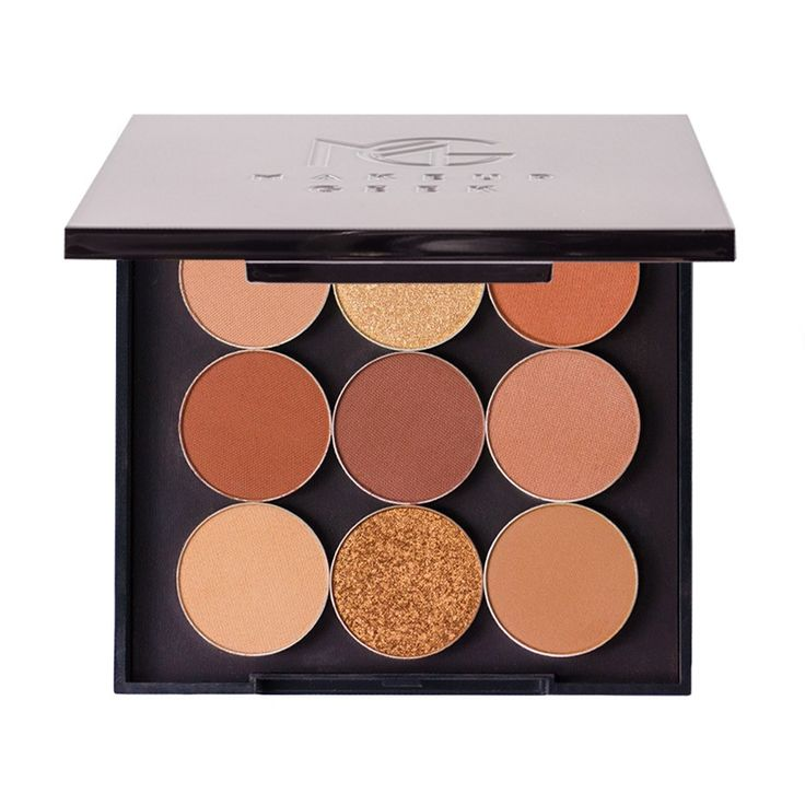 Cocoa Bear, Bake Sale, Cabin Fever, Creme Brulee, Frappe, Side Kick, Tan Lines, Legend, Magic Act | Makeup Geek Warm and Cozy Bundle with Travel Vault - Save 50% (Day 10) - WTP - Makeup Geek