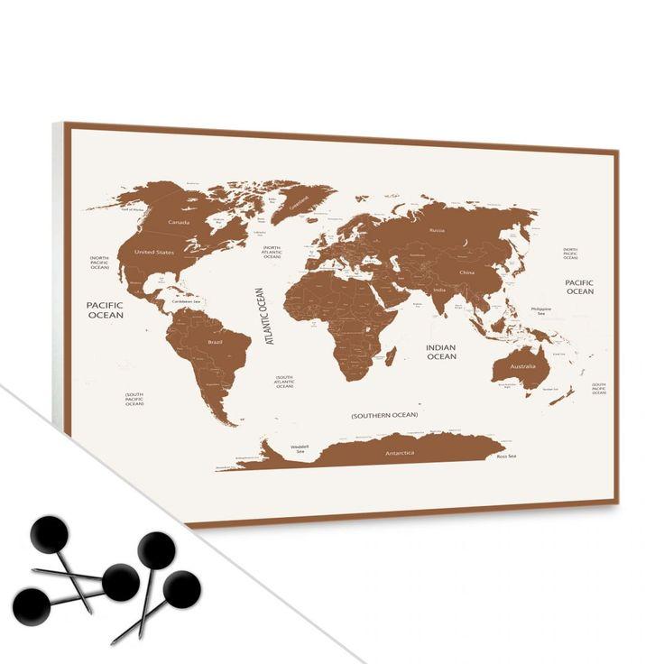 die besten 25 weltkarte kork ideen auf pinterest pinwand kork kork globus und reisekarten. Black Bedroom Furniture Sets. Home Design Ideas