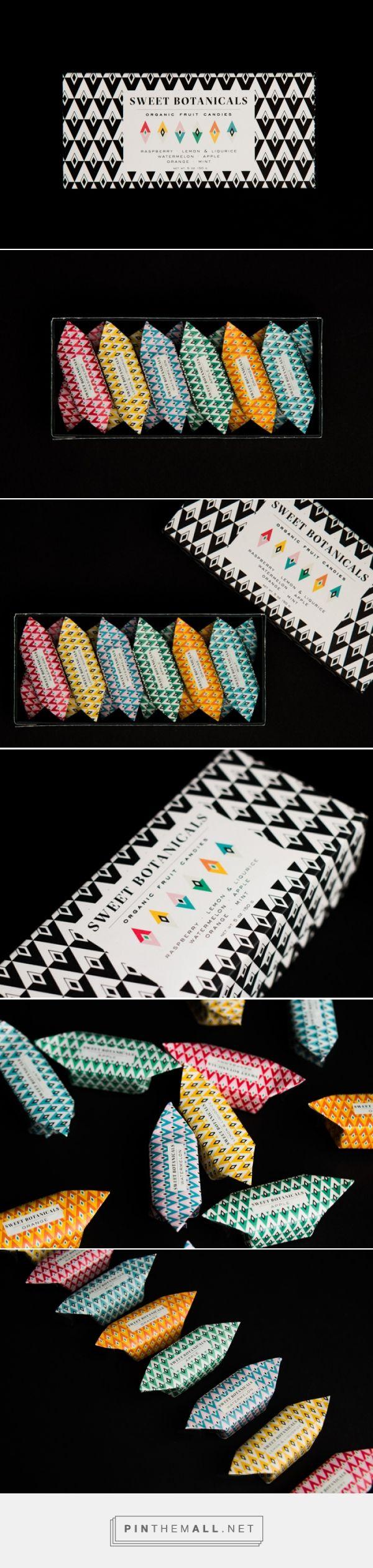 SWEET BOTANICALS / organic candy brand Sweet Botanicals by Anna Ahnborg
