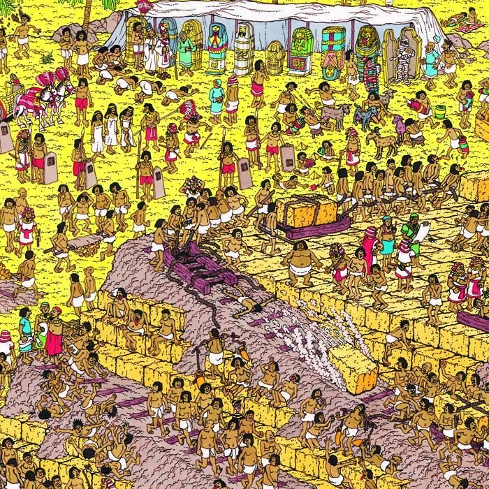 How fast can you spot Wally?