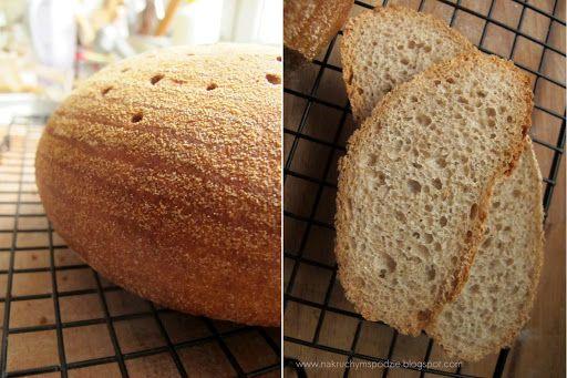 Chleb żytni na zakwasie 70%, robiony metodą trójfazową - J. Hamelmana