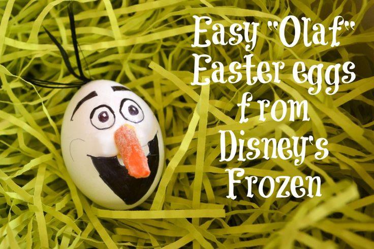 Olaf Easter Eggs! Disney's Frozen