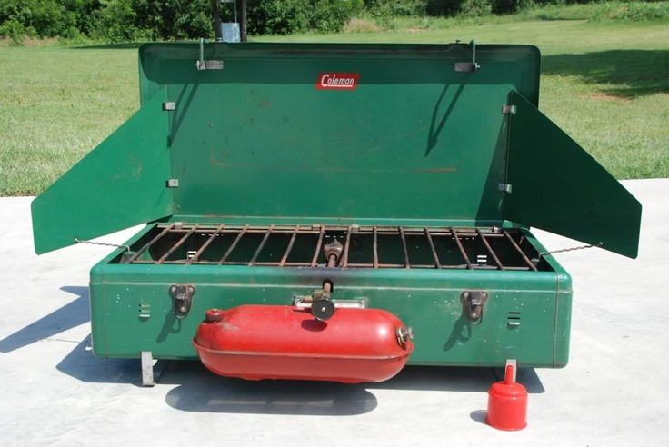 vintage Coleman camping stove