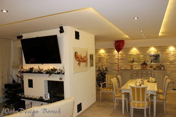Steinverblender/Steinpaneele klassisch,rustikales Flair Wohnzimmer
