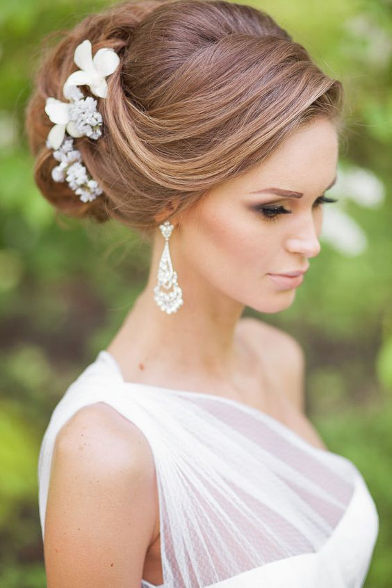 Totally Gorgeous Bridal Hairstyles! Hair Styles, #WBI