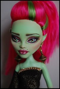 "OOAK Art Doll Monster High Repaint and Custom ""Disco Diva"" by Alex 