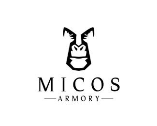 #NegativeSpace #LogoDesigns - MIcos Armory