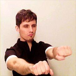 Matt Webb Dancing | via Tumblr
