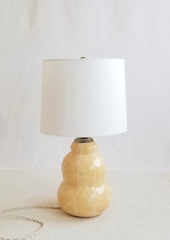 Modern Ceramic Lamp Pottery Table Lamp Etsy Table Lamp Ceramic Table Lamps Unique Bedside Tables