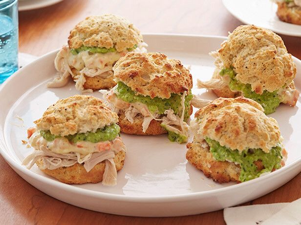 Chicken Pot Pie Sandwich Jeff Mauro food network