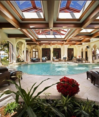 Luxury House With Indoor Pool: 1000+ Images About Pool Skylights: Calgary Skylights On