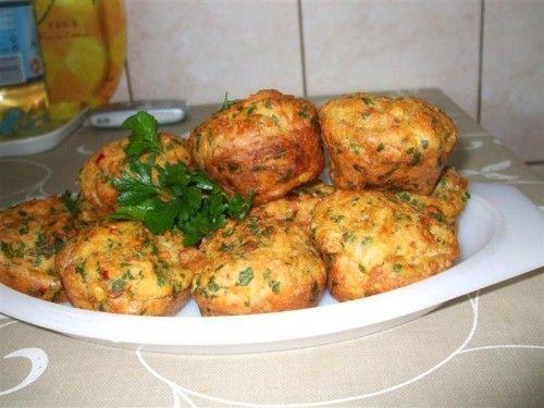Töltelék muffin sütőben sütve! Önálló ételkén egy vacsira, salátával, remek! - Ketkes.com