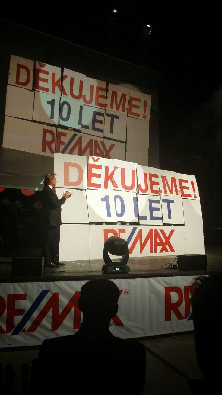 RE/MAX je tu pro vás již 10 let! Děkujeme za důvěru.