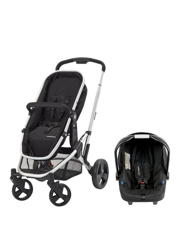my little pram Mothercare Xpedior 4-Wheel Travel System - Silver   very.co.uk