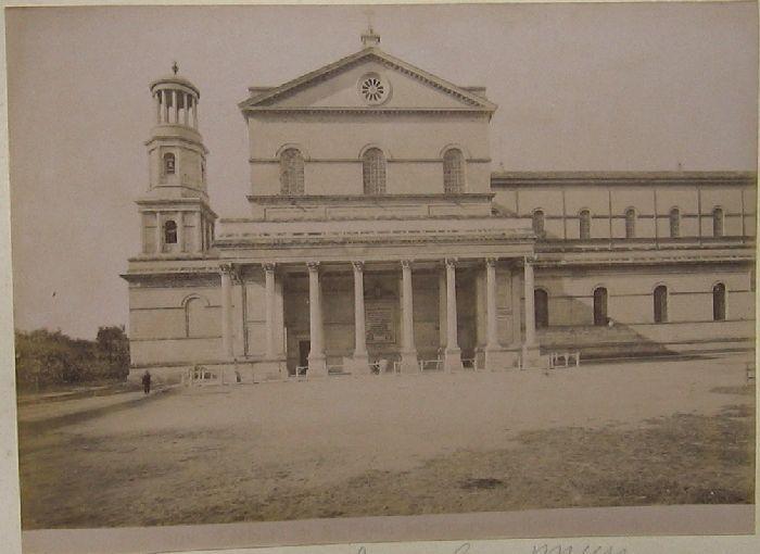 Basilica di S. Paolo fuori le mura Roma 1890