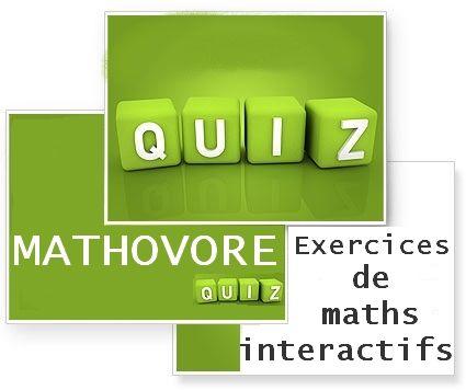 Exercices interactifs corrigés de mathématiques au lycée