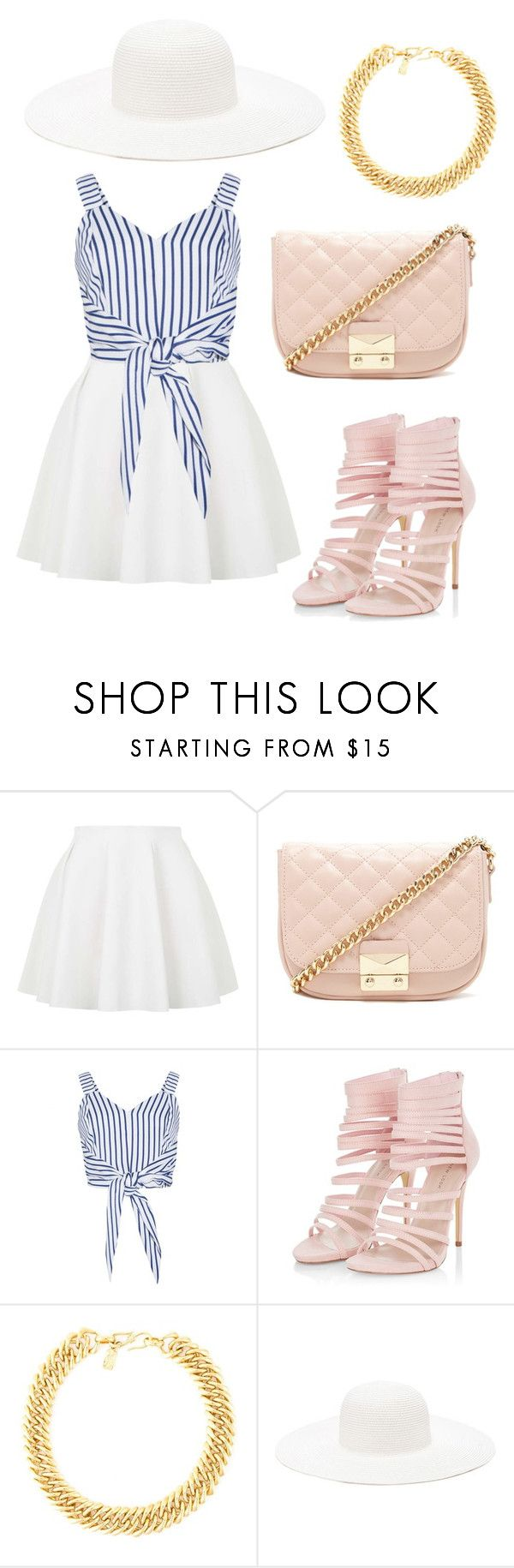 """Fashion Cute Outfit Sprimg 2016"" by diamondanna ❤ liked on Polyvore featuring Topshop, Forever 21 and Yves Saint Laurent"
