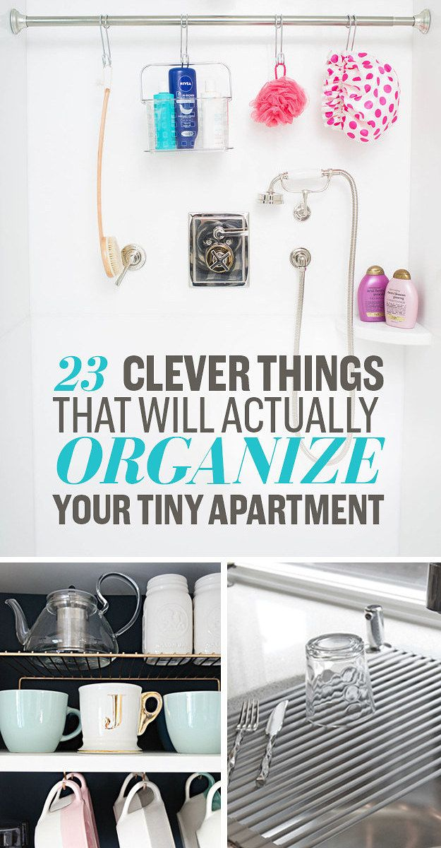 Phenomenal organizing powers. Itty bitty living space.