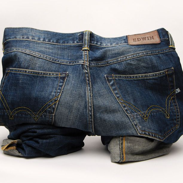 Denim experts Edwin have a wide range of washes and fits. #Edwin #Denim