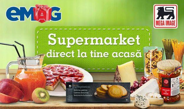 http://bit.ly/1wHRQxn Nu te avanta in aglomeratia din piete si supermarketuri. Acum poti sa-ti faci cumparaturile online. Supermarketul vine la tine acasa. Transportul este gratuit. Nici nu trebuie sa cari sacosele grele, nici la cozi nu trebuie sa mai stai.