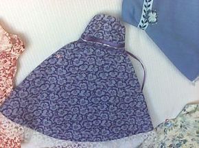 Ecco come realizzare degli abiti per le bambole delle vostre bambine, utilizzando degli scarti di stoffa, dei vecchi abiti tagliati: stessa tecnica anche per le gonne e per le mantelle.