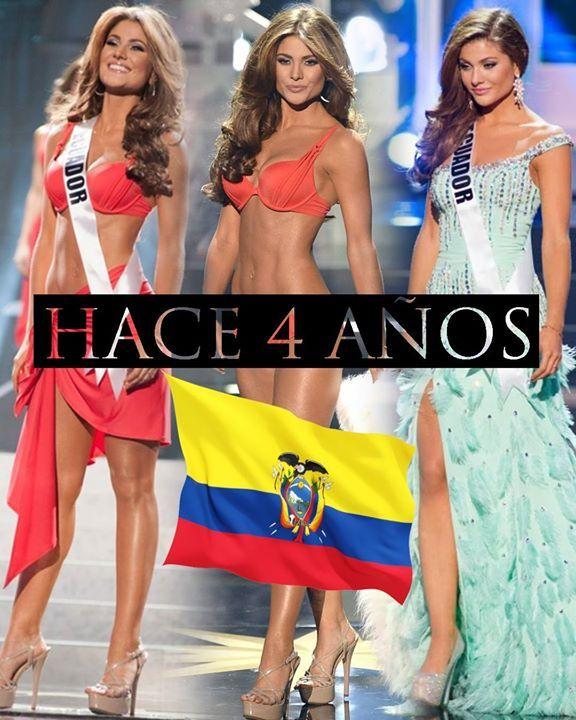 Un día como hoy hace 4 años Constanza Báez quedaba como segunda finalista en Miss Universo 2013 siendo el máximo logro del país en el certamen. Ojalá pronto se vuelva a repetir la historia y hasta que sea en una posición más alta.