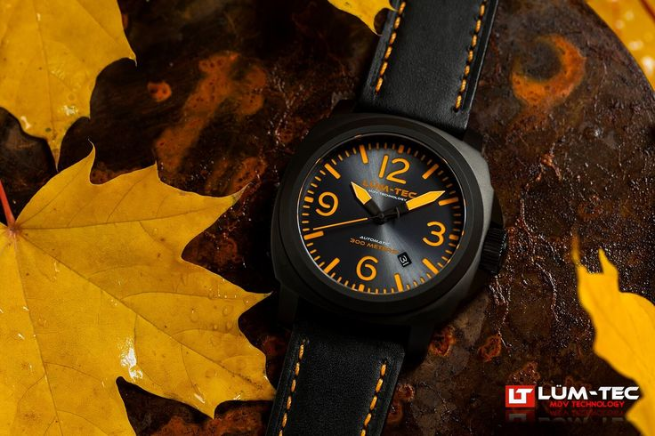 LÜM-TEC WATCH - M68 PVD