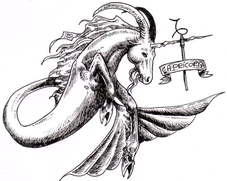 16 Best Goat Capricorn Tattoos Sign Images On Pinterest Capricorn