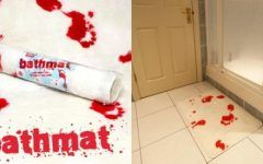Bloodbath Bath Mat Shower Rug That Turns Red When Wet – Facts Explained And