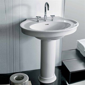 Håndvask Dolcevita i Klassisk stil fra Hatria. Made in Italy.