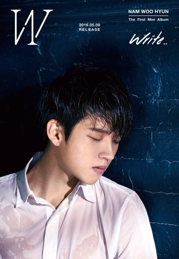 INFINITE's Woohyun has started teasing his long-awaited solo debut! Can't wait!!!