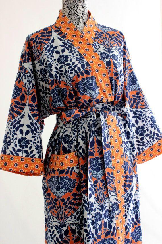 Cotton Robe Robes Cotton Robes Custom Kimono Robe
