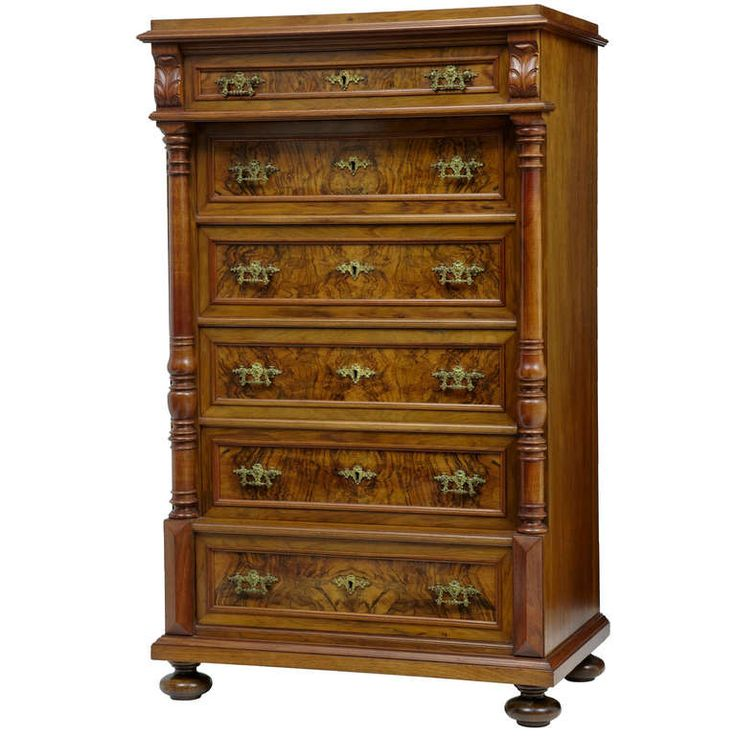 Awesome Late 19th Century Walnut Tallboy Chest Of Drawers | Furniture Storage,  Drawers And Chest Drawers