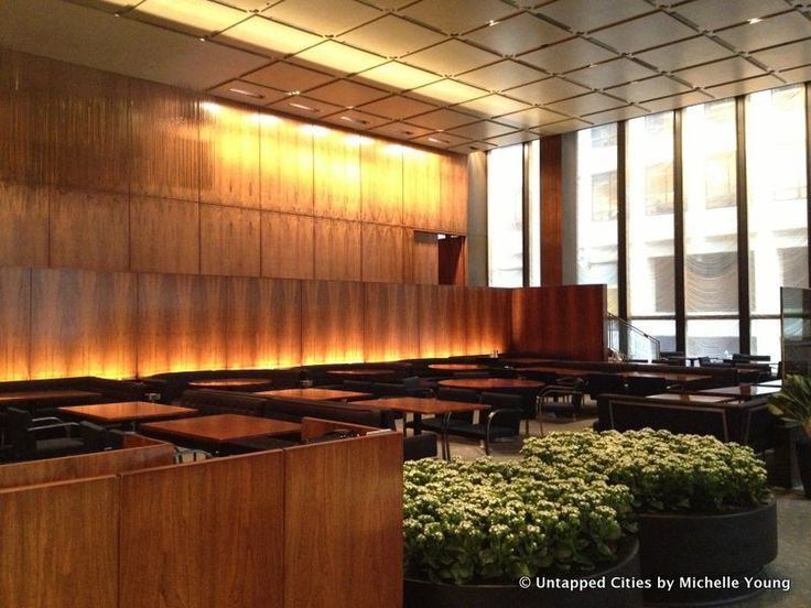 Inside the Four Seasons Restaurant in the Seagram Building [Photos ...