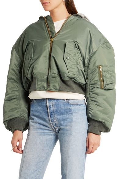 Vetements - Shell Hooded Bomber Jacket - SALE20 at Checkout for an extra 20% off