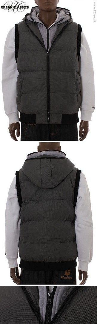 Urban Classics Double Hooded Vest