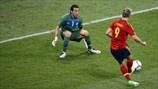 Final EUROCOPA 2.012  Italia 0 - 4 España  Fernando Torres marcó el tercer tanto de España en la final