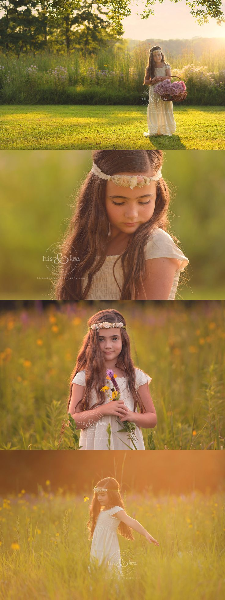 Des Moines, Iowa child photographer, Darcy Milder | His & Hers -  7 year old, Ava