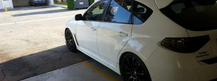 2008 Subaru Wrx STI -Hatch-White_Extras
