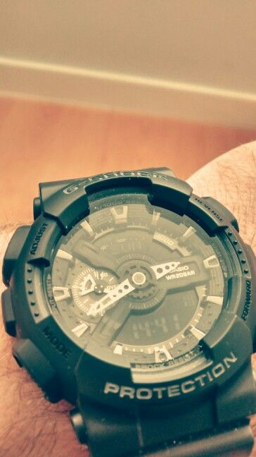 Got the power! G-Shock for my body. Thanks love!