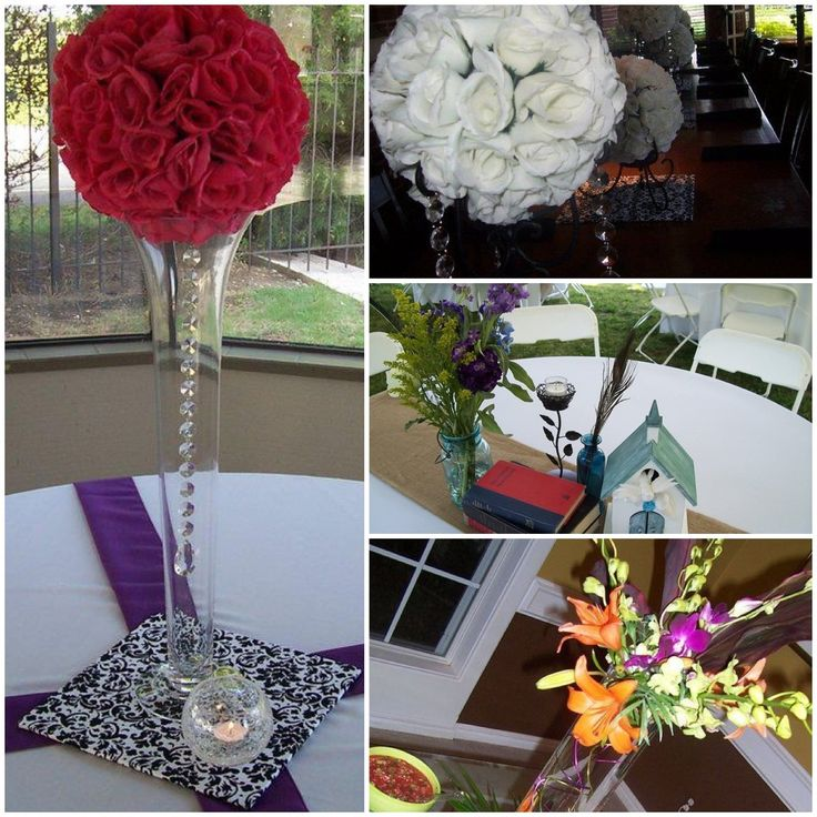 Best bling crystal centerpieces images on pinterest